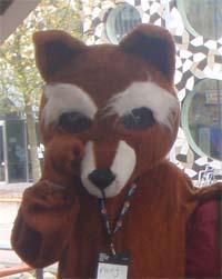 Mascot Monzilla