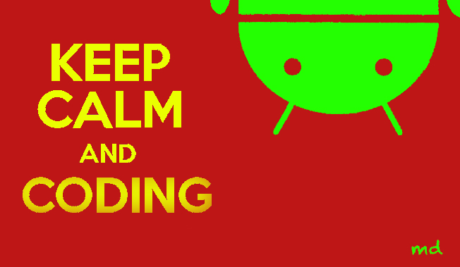 Android Coding Keep Calm