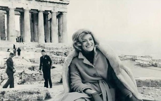 Melina Mercouri Thoughts Experieces Of A